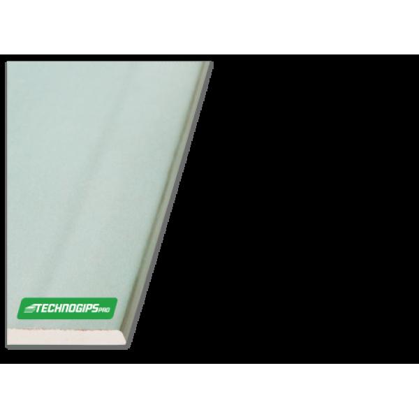 Γυψοσανίδα Ανθυγρή H2 TECHNOGIPS-AK 12.5x1200x2000mm
