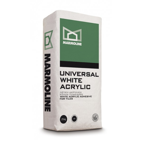 UNIVERSAL WHITE ACRYLIC 25kg